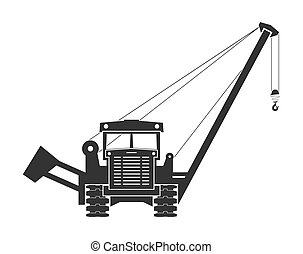 Pipelaying crane