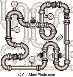 pipeline, fond