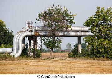 pipeline in nature