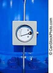 Pipeline pressure gauge