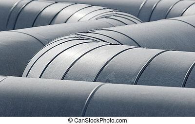 pipeline, tubes
