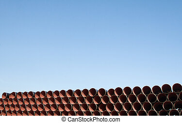 Pipemania 03 - A pile of brandnew pipes