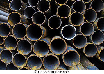 Pipes 2 - Many rusty pipes of Russian factory 2