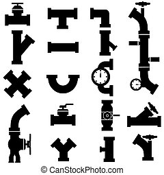 pipes icons