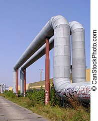 Pipes - Industrial landscape