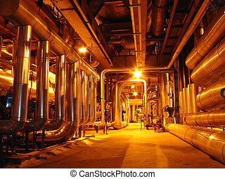 pipes - power plant