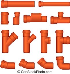 Pipes -  PVC pipe for sewer