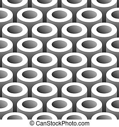 pipes seamless pattern