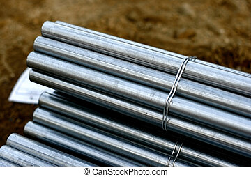 Piping Tubing material used in the construction