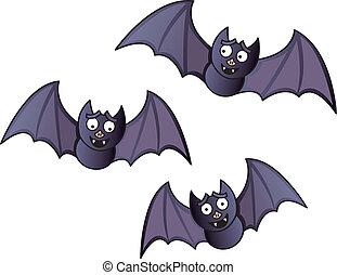 pipistrelli, cartone animato