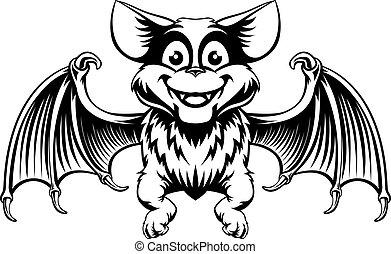 pipistrello, halloween