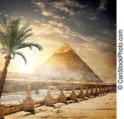 pirámide, khafre