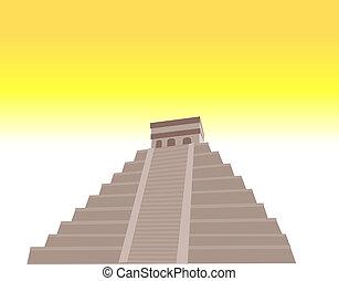 pirámide, maya