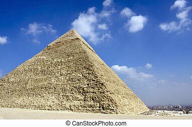 pirámides, egipto, el cairo, giza
