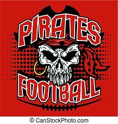 piraci, piłka nożna