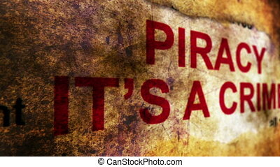 Piracy it is crime