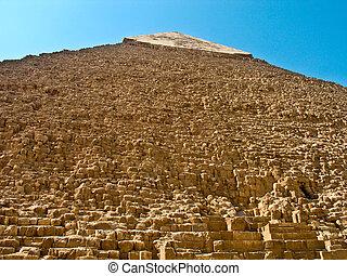 piramide, giza, khafre, egypte