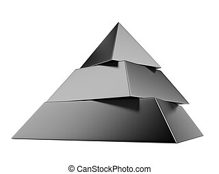 piramide, nero