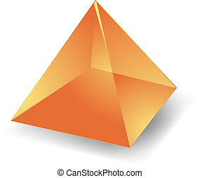 piramide, traslucido
