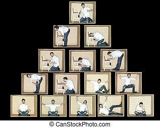 piramide, zakelijk