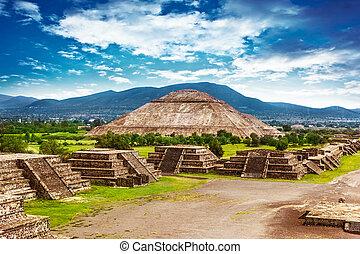 piramides, méxico