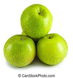 piramis, zöld alma