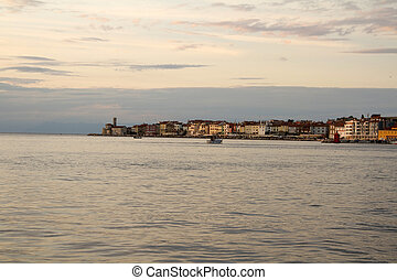 Piran old city in Slovenia