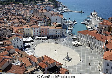 Piran (Slovenia) - Piran is a Pitoresque village along the ...