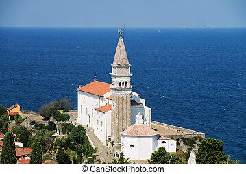 Piran St. George church