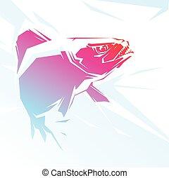 Piranha red