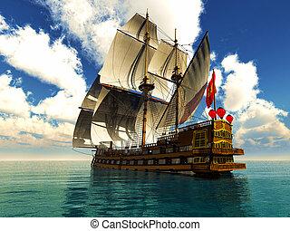 pirata, brigantino