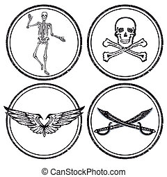 pirata, caráteres