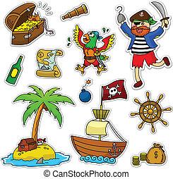 pirata, colección