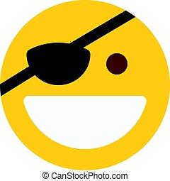 pirata, emoji