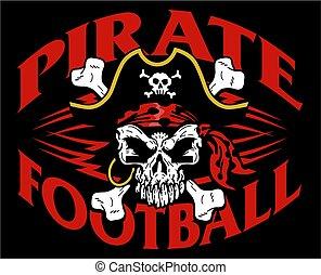 pirata, fútbol