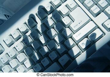 pirata informático, computadora