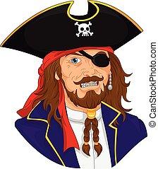 pirata, mascotte