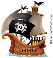 pirata, navio, topic, imagem, 1