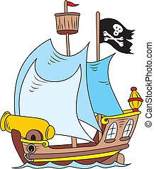 pirata, navio