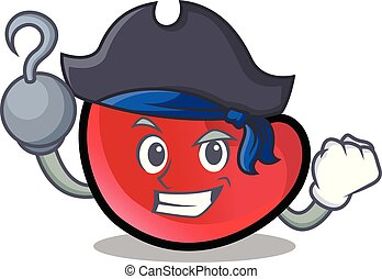 Pirate candy moon character cartoon