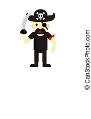 pirate cartoon design 6
