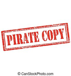Pirate Copy-stamp