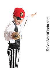 pirate, escroc, ou, seafaring