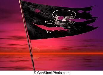 pirate flag - death flag
