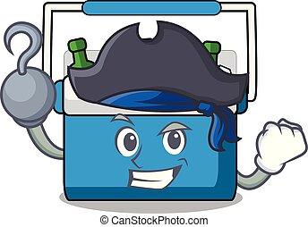 Pirate freezer bag character cartoon