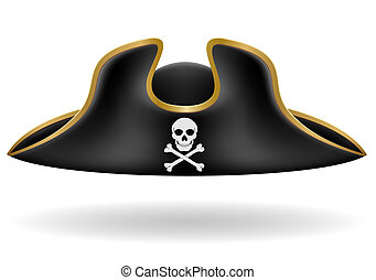 pirate hat stock illustrations 6 893 pirate hat clip art images and rh canstockphoto com pirate hat clip art free Pirate Sword Clip Art