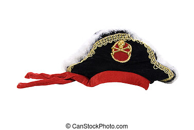 Pirate hat with skull