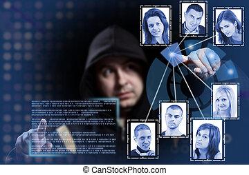 pirate informatique, fonctionnement