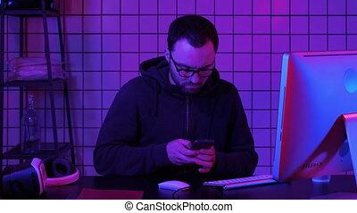 pirate informatique, information, smartphone, mobile, personnel, scamming, par, voler, utilisation, ransom., données, ordre