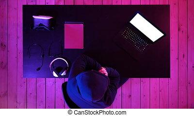pirate informatique, information, smartphone, personnel, display., appeler, mobile, scamming, par, victime, voler, utilisation, blanc, ransom., données, ordre